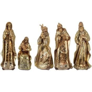 Domov Vianočné dekorácie Signes Grimalt Narodenie Ježiš 5 Jednotiek Dorado