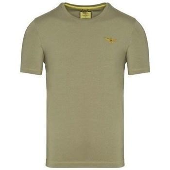 Oblečenie Muži Tričká s krátkym rukávom Aeronautica Militare TS1819 Olivová