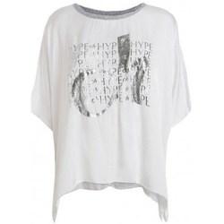 Oblečenie Ženy Tričká s krátkym rukávom Deha D43333 Biela