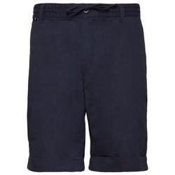 Oblečenie Muži Šortky a bermudy Aeronautica Militare 201BE082CT2601 Tmavomodrá
