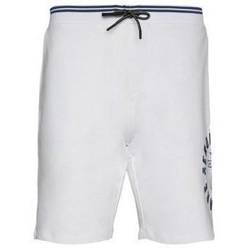 Oblečenie Muži Šortky a bermudy Aeronautica Militare BE109F41973 Biela