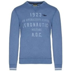 Oblečenie Muži Svetre Aeronautica Militare MA1327L43421 Modrá