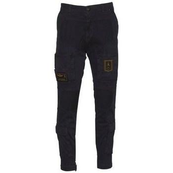 Oblečenie Muži Nohavice Aeronautica Militare 202PA939CT27688 Čierna