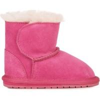 Topánky Deti Polokozačky EMU Toddle Ružová