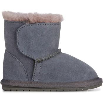 Topánky Deti Polokozačky EMU Toddle Charcoal