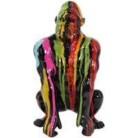 Domov Sochy Signes Grimalt Gorilla Grafiti Multicolor