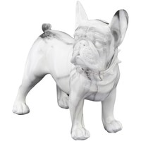 Domov Sochy Signes Grimalt Bulldog Bulldog Blanco