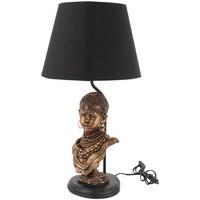 Domov Stolové lampy Signes Grimalt Lampa S Africkou Postavou Dorado