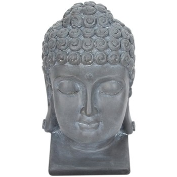 Domov Sochy Signes Grimalt Obrázok Buddha Hlava. Gris