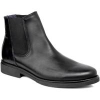 Topánky Muži Polokozačky CallagHan 44705 čierna