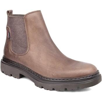 Topánky Muži Polokozačky CallagHan 45102 Hnedá