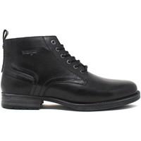 Topánky Muži Polokozačky Wrangler WM12061A čierna