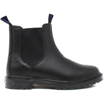 Topánky Muži Polokozačky Wrangler WM12041A čierna