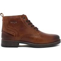 Topánky Muži Polokozačky Wrangler WM12061A Hnedá
