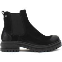 Topánky Ženy Čižmičky Wrangler WL12615A čierna