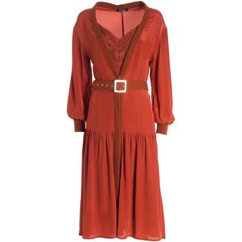 Oblečenie Ženy Dlhé šaty Fracomina F321WD2004W41801 Oranžová