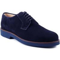 Topánky Muži Derbie Exton 443 Modrá