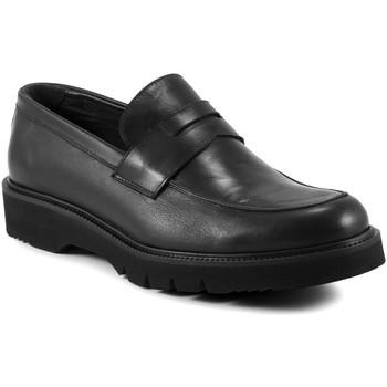 Topánky Muži Mokasíny Exton 662 čierna