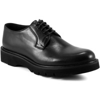 Topánky Muži Derbie Exton 668 čierna