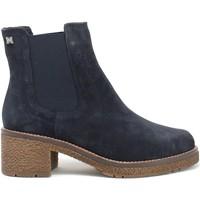 Topánky Ženy Čižmičky CallagHan 29505 Modrá