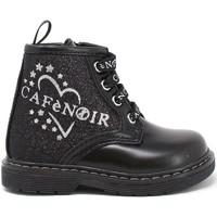 Topánky Dievčatá Polokozačky Café Noir C-1510 čierna
