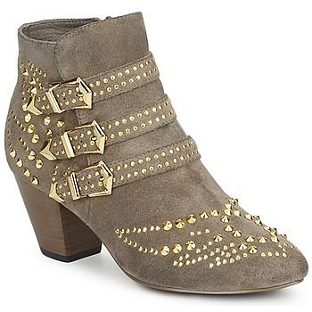 Topánky Ženy Čižmičky Ash JOYCE Béžová
