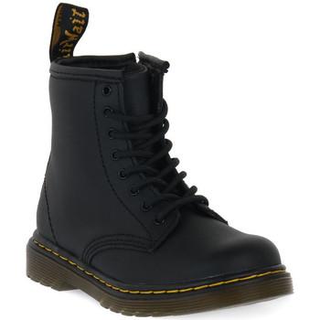 Topánky Deti Polokozačky Dr Martens 1460 BLACK SOFTY T Nero