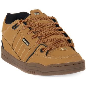 Topánky Muži Skate obuv Globe FUSION GOLDEN BROWN Marrone
