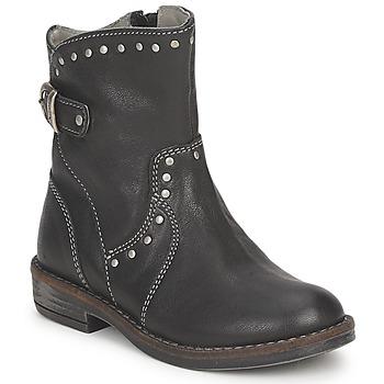 Topánky Dievčatá Polokozačky Noel FRANCA čierna