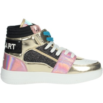 Topánky Ženy Členkové tenisky Shop Art SA80243 White/Gold