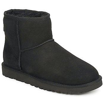 Topánky Ženy Polokozačky UGG W CLASSIC MINI čierna