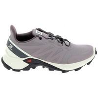 Topánky Bežecká a trailová obuv Salomon Supercross 5 Parme Béžová