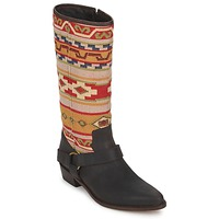 Topánky Ženy Čižmy do mesta Sancho Boots CROSTA TIBUR GAVA Hnedo-červená