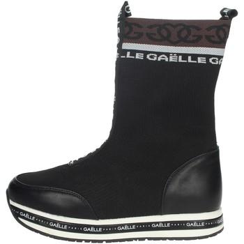 Topánky Ženy Polokozačky GaËlle Paris G-1116 Black