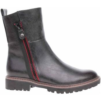 Topánky Ženy Polokozačky Marco Tozzi 222543527229 Čierna