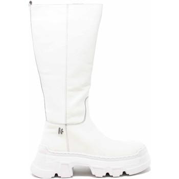 Topánky Ženy Čižmy do mesta Keys K-5743 Biely
