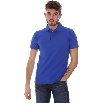 Oblečenie Muži Polokošele s krátkym rukávom Bradano 201014M Modrá