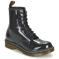 Topánky Ženy Polokozačky Dr Martens 1460 W Čierna