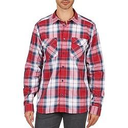 Oblečenie Muži Košele s dlhým rukávom Wesc JOEY Červená