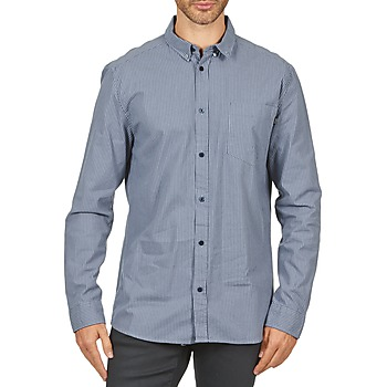 Oblečenie Muži Košele s dlhým rukávom Wesc YANIK Modrá