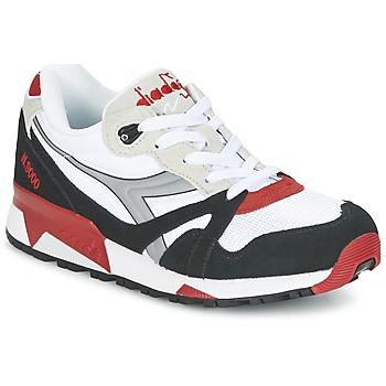 Topánky Nízke tenisky Diadora N9000  NYL Biela / Čierna / Červená