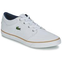 Topánky Muži Námornícke mokasíny Lacoste BAYLISS 116 2 Biela