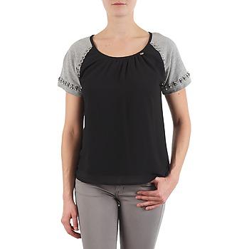 Oblečenie Ženy Tričká s krátkym rukávom Lollipops PADELINE TOP Čierna / Šedá