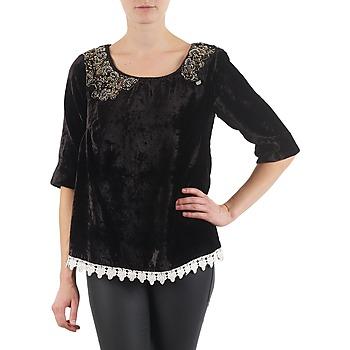 Oblečenie Ženy Tričká s dlhým rukávom Lollipops PILOW TOP Čierna