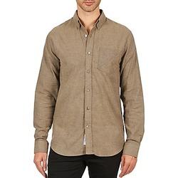 Oblečenie Muži Košele s dlhým rukávom Kulte CHEMISE CLAY 101799 BEIGE Béžová