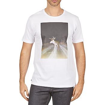 Oblečenie Muži Tričká s krátkym rukávom Kulte BALTHAZAR PLEIN PHARE 101931 BLANC Biela