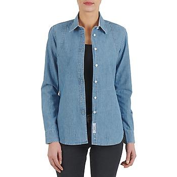 Oblečenie Ženy Košele a blúzky Kulte CHEMISE CIRCUIT 101826 BLEACH Modrá