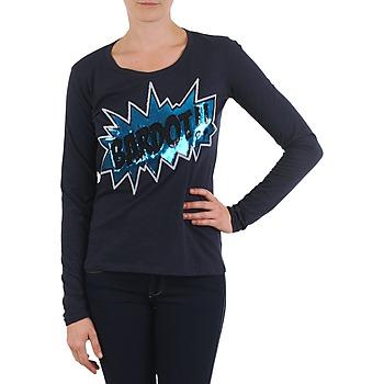 Oblečenie Ženy Tričká s dlhým rukávom Brigitte Bardot BB43130 Modrá