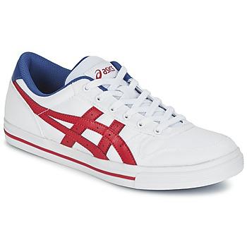 Topánky Nízke tenisky Asics AARON Biela / červená