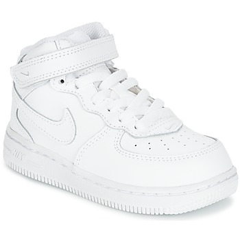 Nike  AIR FORCE 1 MID TODDLER  Biela